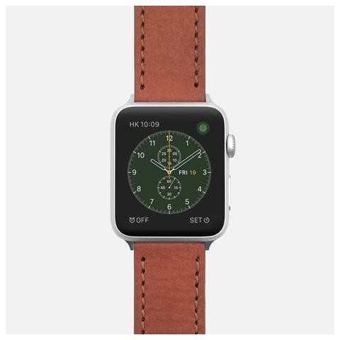 Rouille Natural Calfskin Leather Watch Strap