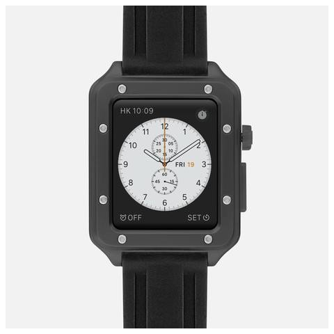 316L Stainless Steel Lux Case - Black